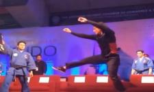 Tiger Shroff Shares Taekwondo Video