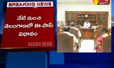 E-pass Policy In Telangana From Today