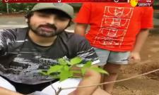 Tollywood Actor Samrat Reddy Accepted Green India Challenge