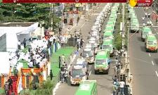 AP CM YS Jagan Inaugurated 108 And 104 Ambulance Vehicles In Vijayawada