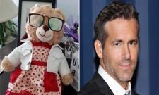 Viral: Ryan Reynolds Offers Cash Reward For Returning Woman Teddy - Sakshi