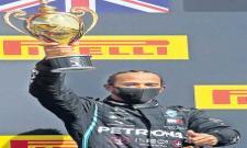 Lewis Hamilton Won Seventh Time British Grand Prix Title - Sakshi