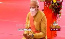 PM Narendra Modi Attends Ayodhya Bhumi Pujan For Ram Mandir