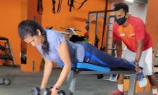 Happy to resume full-fledged gym session says PV SINDHU - Sakshi