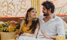Rana Daggubati and Miheeka Bajaj Haldi Ceremony Video - Sakshi