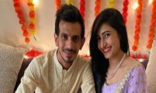 Yuzvendra Chahal And Dhanashree Verma Officiate Their Relations With Roka - Sakshi