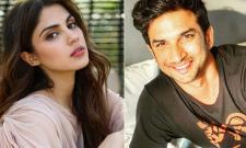 Rhea Chakraborty Tells Paid For Everything With Her Own income ED - Sakshi