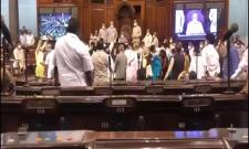Rajya Sabha Protest Viral Video