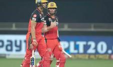 RCB Set Target Of 202 Runs Against MI - Sakshi