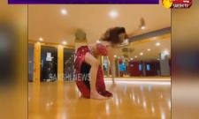 Urvashi Rautela Shares Dance Video