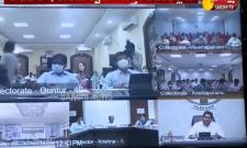 AP CM YS Jagan‌ Video Conference On Spandana