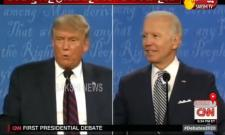 Donald Trump And Biden Debate