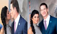 John Cena Secret Marriage With Shay Shariatzadeh - Sakshi