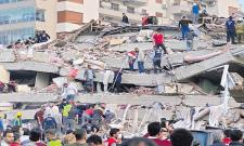 Strong earthquake Eliminate 14 people in Turkey and Greek islands - Sakshi