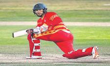 Pakistan beat Zimbabwe by 26 runs - Sakshi