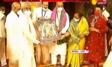 President RamNath Kovind Visited Tirumala Today