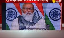 PM Modi Video Conference At New Delhi