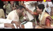 Singer Sunitha Marriage Video