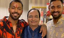 Hardik Pandyas Father Breathes His Last - Sakshi