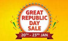 Amazon Great Republic Day Sale on Jan 20 - Sakshi