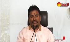 Vellampalli Srinivas Press Meet At Tadepalli