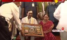 Telangana CM KCR visits Kaleshwaram