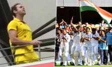 Australian Cricket Fan Slogan Bharat Mata Ki Jai Slogan Goes Viral - Sakshi