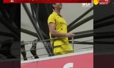 Australian Cricket Fan Slogan Bharat Mata Ki Jai