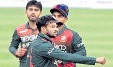 Shakib Al Hasan Stars In Comeback Match As Bangladesh Down West Indies - Sakshi