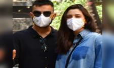 New Parents Virat Kohli And Anushka Sharma Make Their First Public Appearance - Sakshi