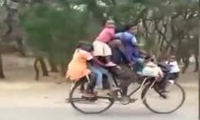 Cycle Funny Viral Video