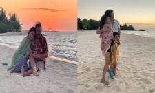 Manchu Lakshmis Maldives Vacation With Family Photo Viral  - Sakshi