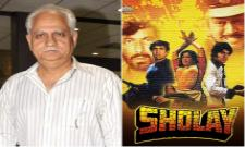 Sholay Director Ramesh Sippy Birthday Special Story - Sakshi