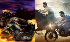 RRR Movie Poster Copied From Ghost Rider: Netizens - Sakshi