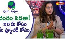 Renu Desai Over Severe Plastic Pollution On Earth - Sakshi