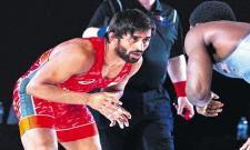 Bajrang Punia Will Stay Back In USA Camp For Practice - Sakshi