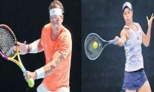 Ashleigh Barty And Rafael Nadal Won First Round In Australian Open - Sakshi
