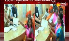 Gadwal Vijayalaxmi Elected As GHMC Mayor