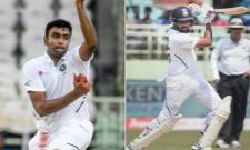 Rohit Sharma Reach Career Best And Ashwin Moves 3 In ICC Test Rankings - Sakshi