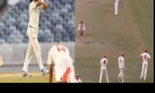 Watch Western Australia Batsman Survives Last Ball In A Dramatic Finish - Sakshi