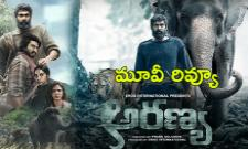 Rana Daggubati Aranya Movie Review And Rating - Sakshi