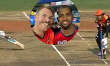 IPL 2021: David Warner Hillarious Comments On Nicholas Pooran Run Out - Sakshi