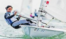 Nethra Kumanan becomes 1st Indian woman sailor to qualify for Tokyo Olympics - Sakshi