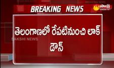 10 Day Lockdown In Telangana From Tomorrow