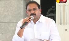 Minister Alla Nani Press Meet At Mangalagiri
