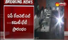 AP Cabinet Sub Committee On Coronavirus Situation