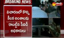 CID Investigation On Raghu Rama Krishnam Raju