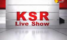 KSR Live Show On 15 may  2021