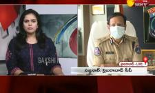 Sakshi Special Interview With CP Sajjanar On Telangana Lockdown