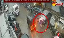 young woman who narrowly escaped a major accident